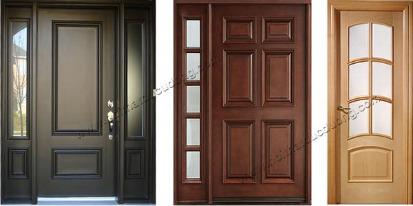 cửa gỗ tự nhiên chung cư phổ thông