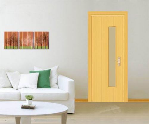 cửa gỗ công nghiệp, cua go cong nghiep phun son 03