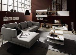 Phòng khách cá tính với tông màu trầm – M02