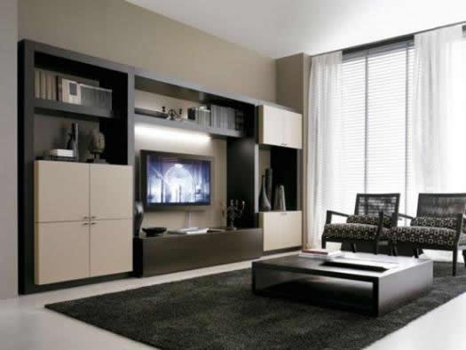 Phòng khách hiện đại với gam màu nâu – M01