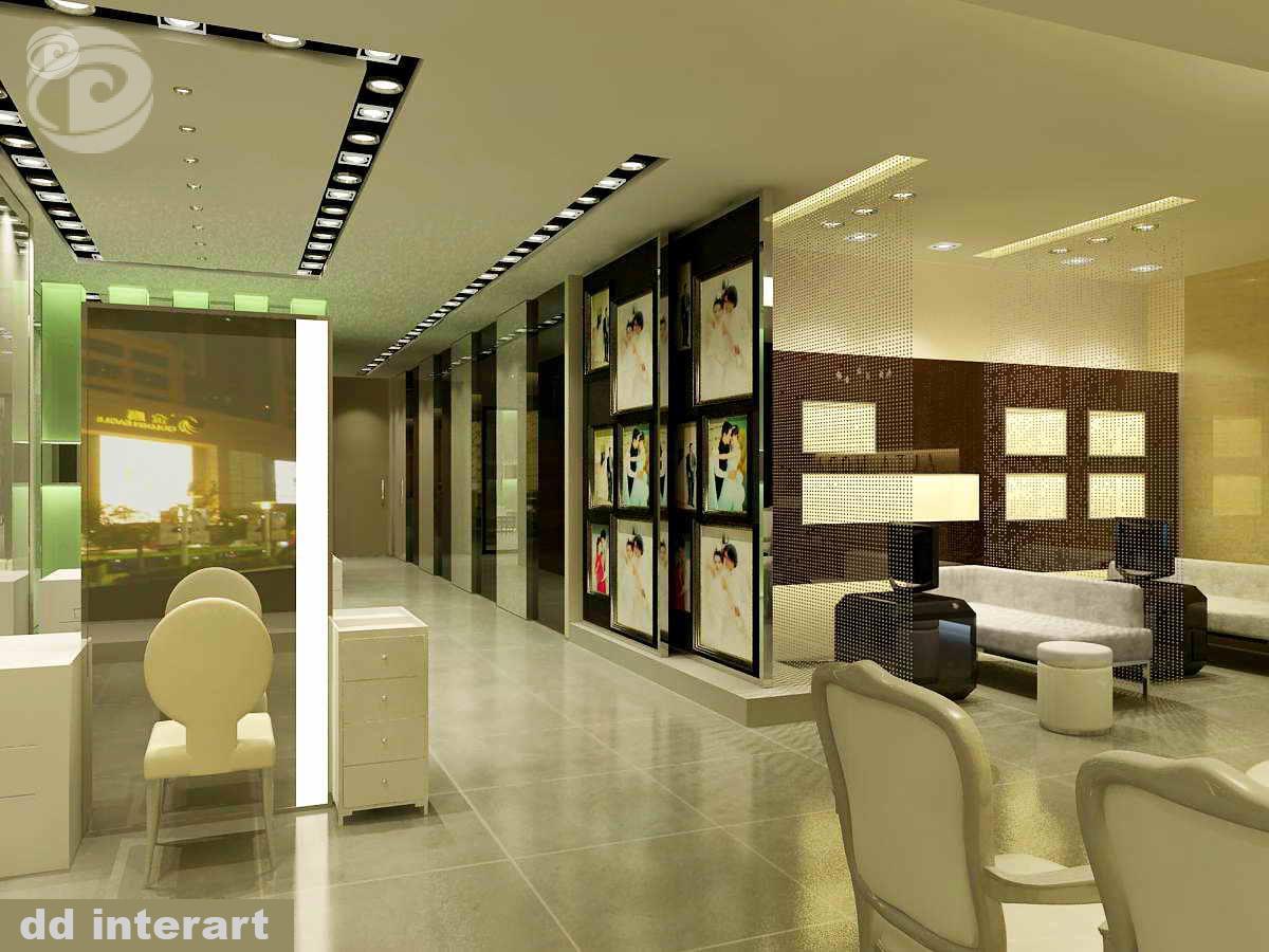 Dự án Tư vấn thiết kế hoàn thiện nội thất Ảnh Viện áo cưới Thanh Hằng