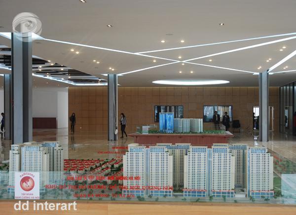 Nhà trưng bày căn hộ kiêm sàn giao dịch BĐS Nam Cường