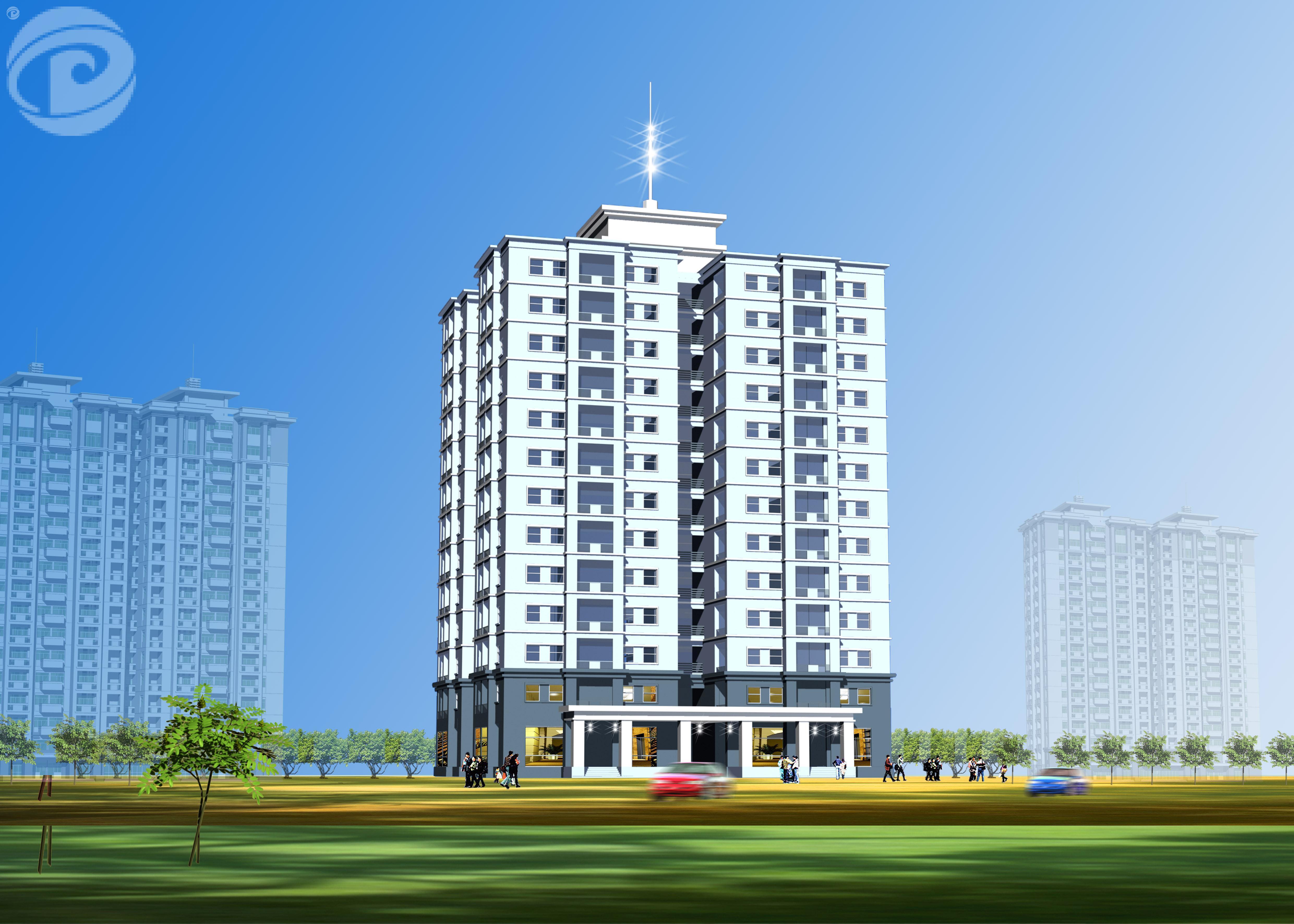 Dự án nội thất nhà Cao tầng NO3A  KĐTM Sài Đồng- Gia Lâm – HN