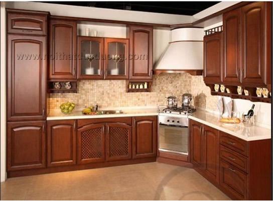 Tủ bếp gỗ Xoan đào Design03
