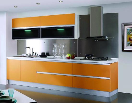 Tủ bếp Laminate Design 02