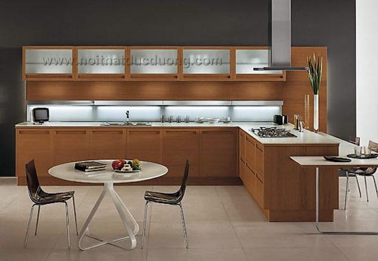 Design tủ bếp Veneer Dổi 04