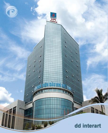 Dự án nội thất văn phòng Viện dầu khí Việt Nam