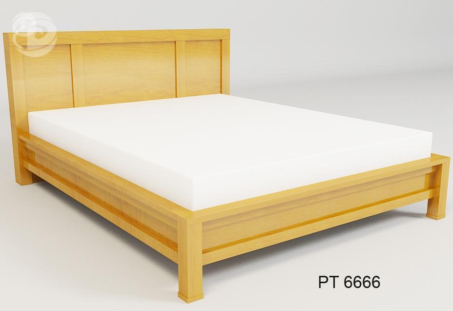 Giường ngủ gỗ tự nhiên – PT:6666