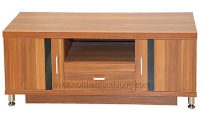 Kệ tivi gỗ veneer sồi truyền thống 01