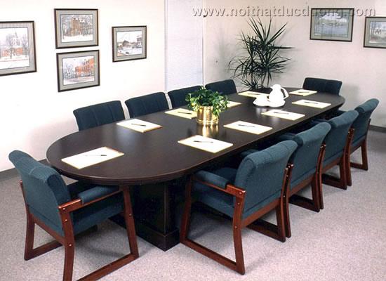 Bộ bàn ghế phòng họp loại vừa 03