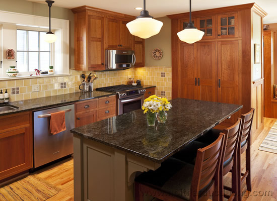 Tủ bếp gỗ tự nhiên 12