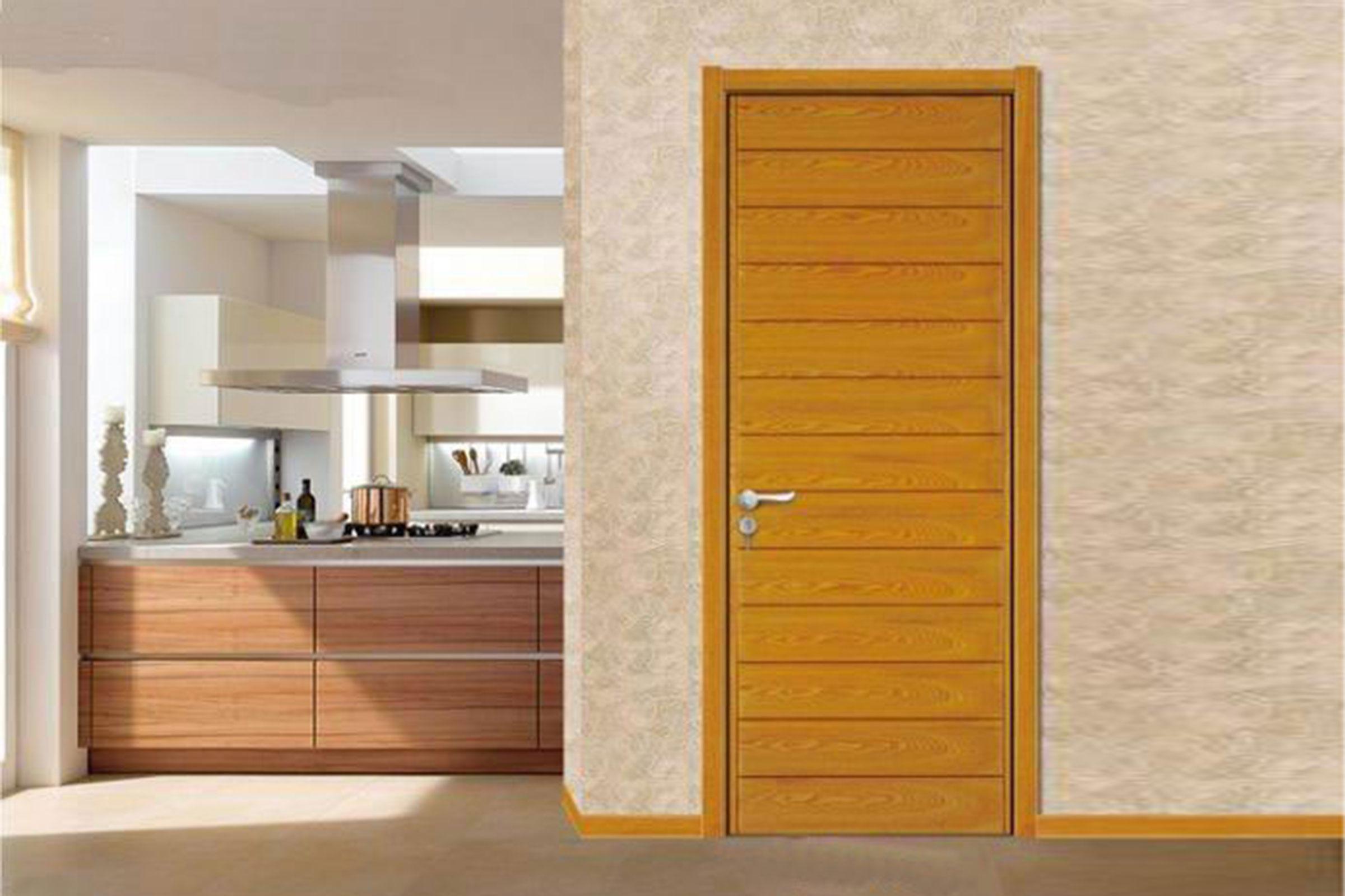 Cửa gỗ veneer Sồi 01