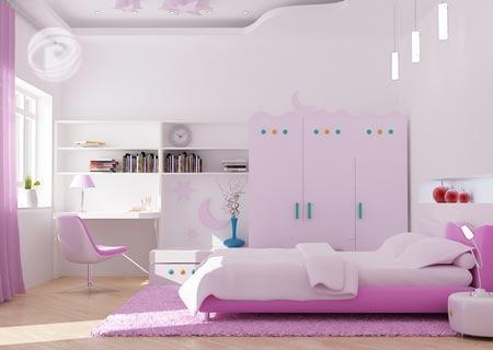 Thiết kế không gian nội thất phòng trẻ em