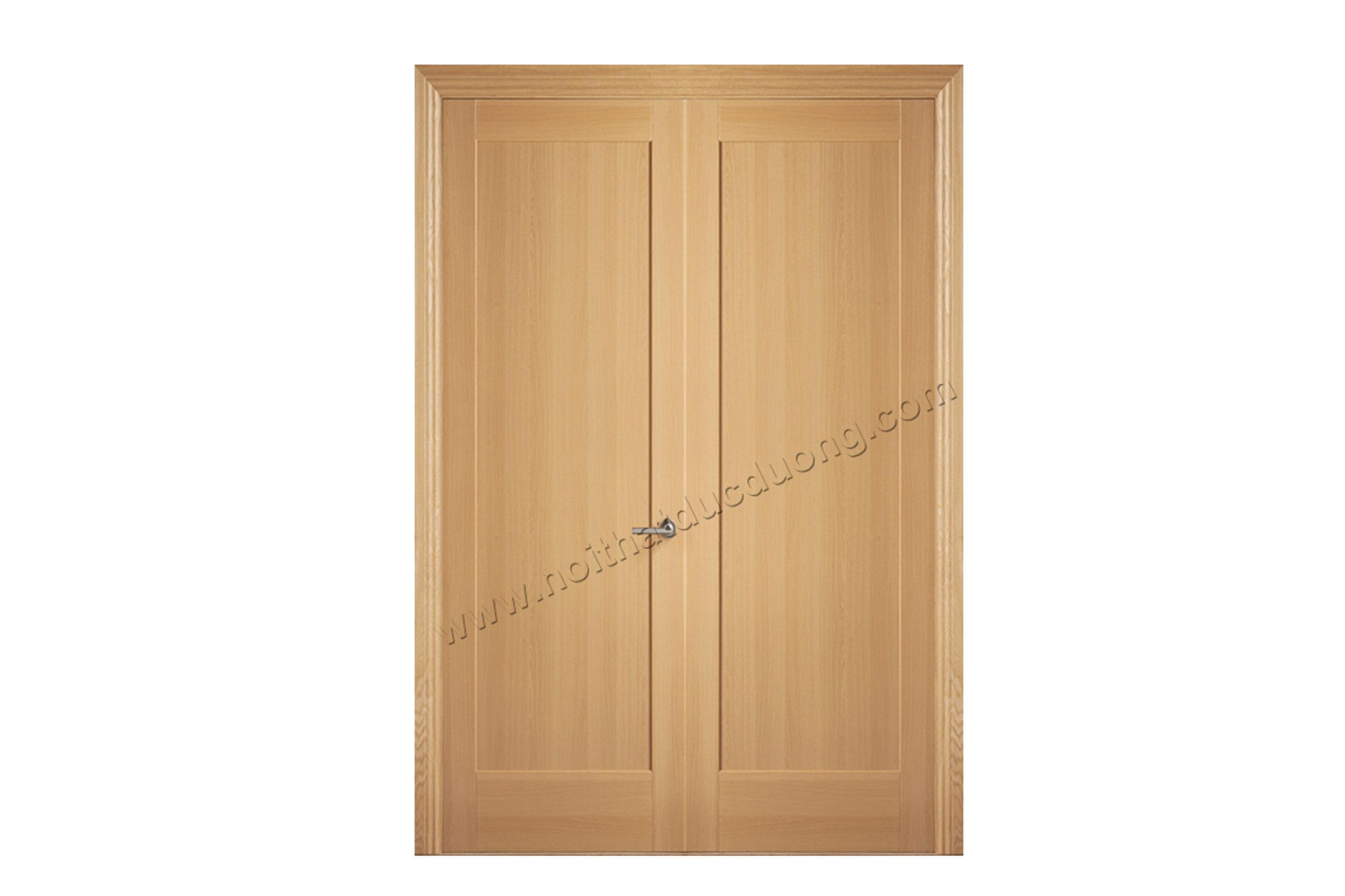 Cửa gỗ Veneer Sồi 15