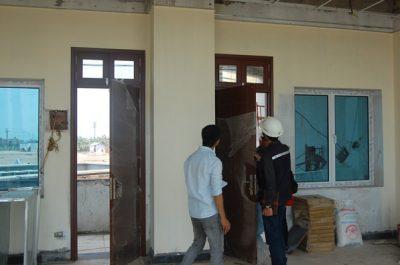 """Cửa gỗ cho dự án """"Trường đào tạo cán bộ tòa án Việt Nam"""""""