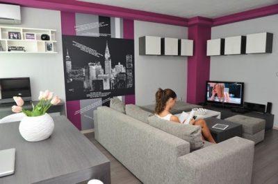 Mẫu thiết kế nội thất sang trọng cho căn hộ nhỏ