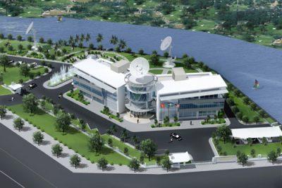 Dự án cửa gỗ trung tâm Công nghệ cao Viettel – Láng Hòa Lạc