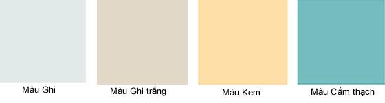 màu sơn cửa gỗ công nghiệp phun sơn 33