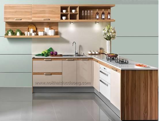 Tủ bếp Laminate Design 12