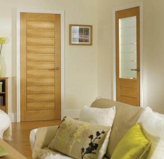 cửa gỗ chống cháy phòng khách