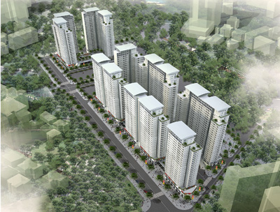 Cửa gỗ dự án tại Tổ hợp chung cư Lê Văn Lương Residentials