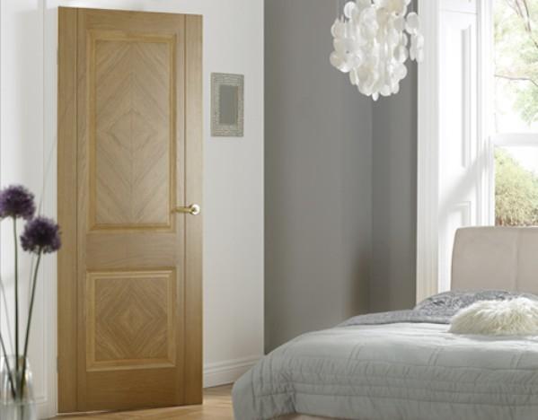 cửa gỗ chống cháy phòng ngủ