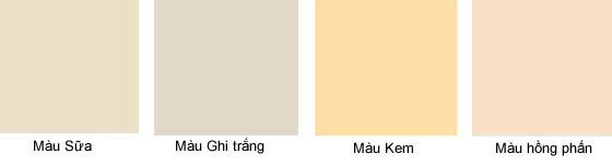 màu sơn cửa gỗ công nghiệp 51