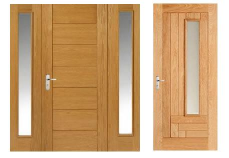 cửa gỗ sồi đẹp