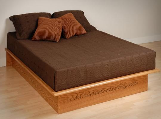 Giường ngủ hình khối hộp chữ nhật 15