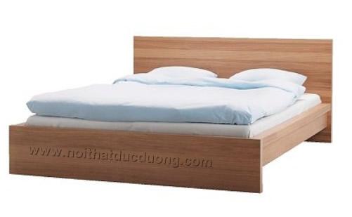 Giường ngủ veneer Xoan đào 13