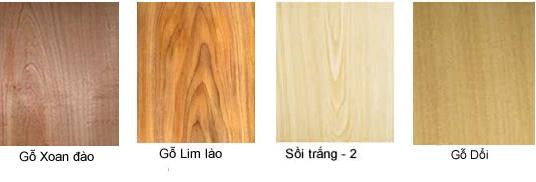 Một số mẫu bề mặt gỗ tự nhiên tham khảo tại nội thất Đức Dương