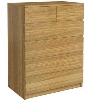 Tab gỗ veneer dổi nhiều ngăn 06