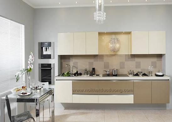 Tủ bếp gỗ highgloss Design 15