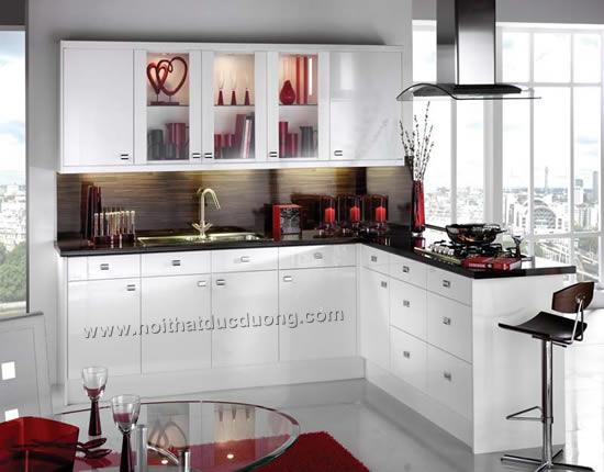 Tủ bếp highgloss Design 19