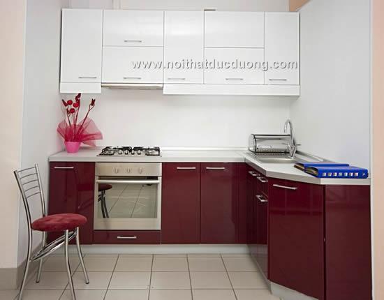 Tủ bếp highgloss Design 18