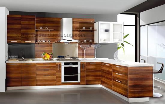 Tủ bếp gỗ Laminate Design 17