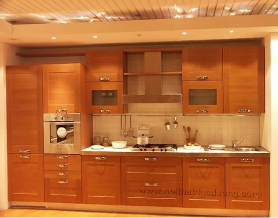 Tủ bếp gỗ sồi 25