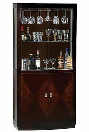 Tủ rượu gỗ veneer tinh xảo 04