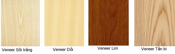 Một số mẫu bề mặt gỗ veneer tham khảo tại nội thất Đức Dương