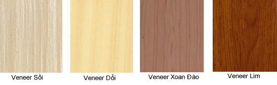 Một số mẫu veneer tham khảo tại nội thất Đức Dương