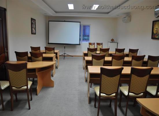 Bộ bàn ghế phòng họp hội trường 14