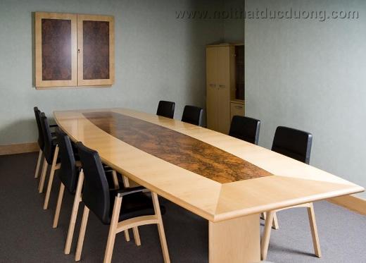 Bộ bàn ghế phòng họp ấn tượng 05