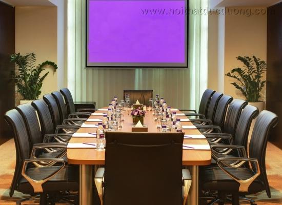 Bộ bàn ghế phòng họp cách điệu 10