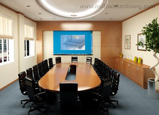 Bộ bàn ghế phòng họp loại lớn 07