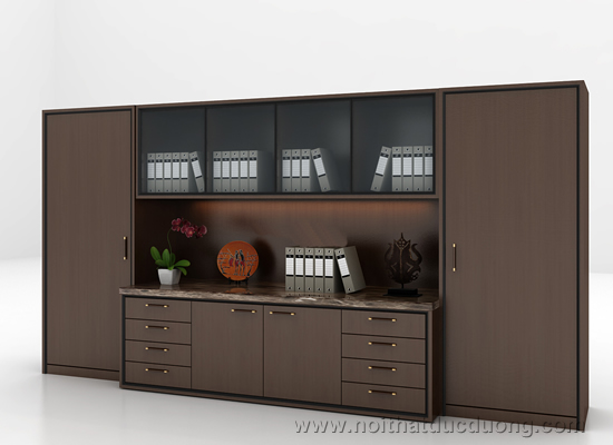 Tủ tài liệu gỗ veneer