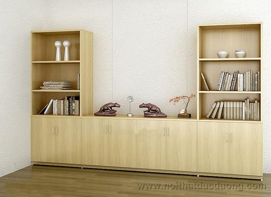 Tủ tài liệu gỗ veneer sồi