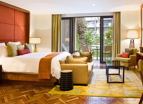 Phòng ngủ hiện đại khách sạn 4 sao