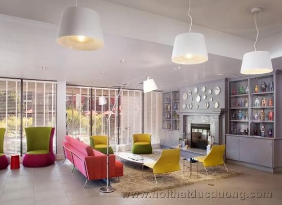 Ấn tượng với nội thất khách sạn trẻ trung đầy sắc màu