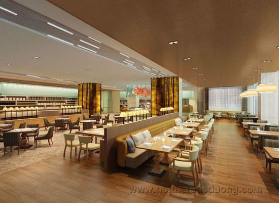 Design nhà hàng theo phong cách hiện đại sang trọng