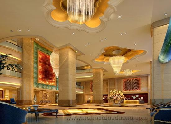 Design Sảnh chính cho khách sạn 5 sao